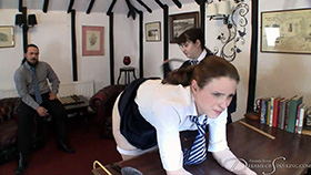 Join the site to view The New Head Girl and all other spanking scenes