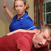 Join the site to view Nursing a Grudge and all other spanking scenes