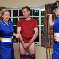 Behind the scenes photo 4 from Nursing a Grudge at Dreams of Spanking
