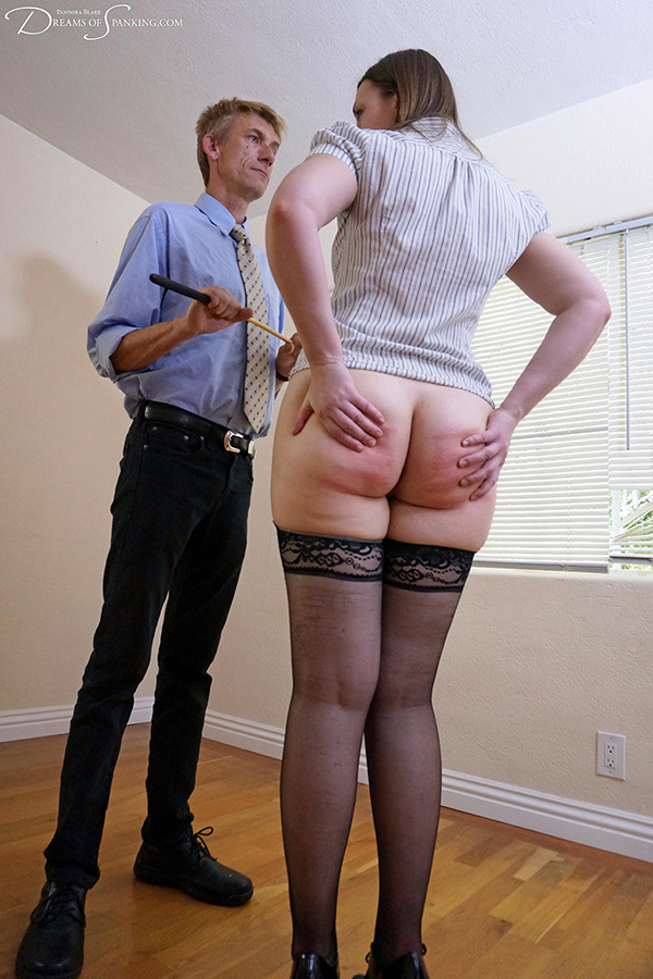 Spank caning srap speaking