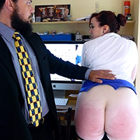 Join the site to view Office Assistance and all other spanking scenes