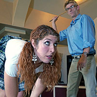 Join the site to view The Other School and all other spanking scenes