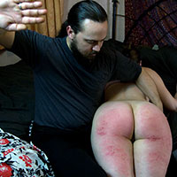 Join the site to view Over His Knee and all other spanking scenes