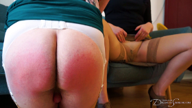 Join the site to view The Panty Boy Next Door and all other spanking scenes