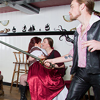 Preview thumbnail : Join the site to view The Pirates of the Jolly Kraken and all other spanking scenes