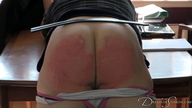 Join the site to view Plagiarism and all other spanking scenes