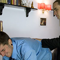 Join the site to view The Prefect and the Fag and all other spanking scenes
