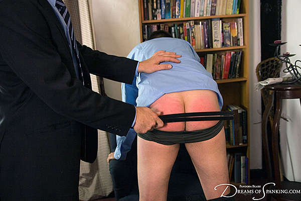 Sadistic prefect Jimmy Holloway abuses hapless schoolboy Sebastian Hawley at Dreams of Spanking