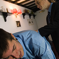 Behind the scenes photo 3 from The Prefect and the Fag at Dreams of Spanking