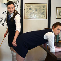Preview thumbnail : Join the site to view The Prefect's Revenge and all other spanking scenes