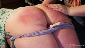 Join the site to view Paternity Paddling for Pregnant Brat and all other spanking scenes