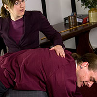 Join the site to view Non-violent Resistance and all other spanking scenes