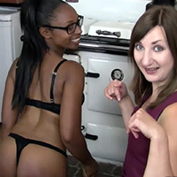Behind the scenes photo 3 from Provocative Housework at Dreams of Spanking