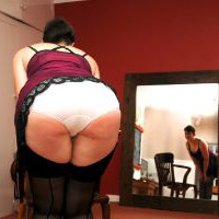 Preview thumbnail : Join the site to view Purple Slip and all other spanking scenes