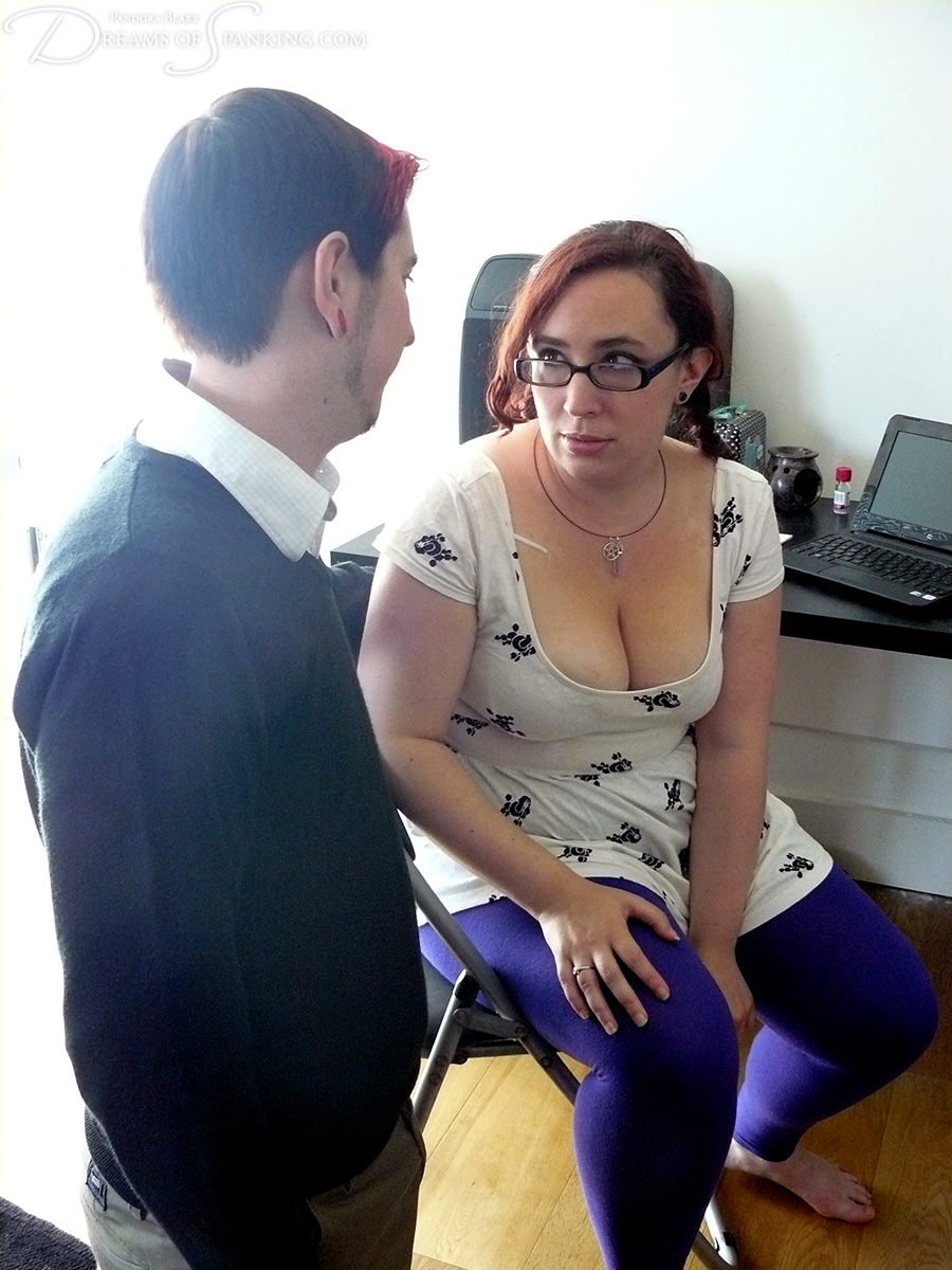 Beat the Recession at Dreams of Spanking, starring Nimue Allen and Sebastian Hawley