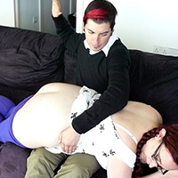 Join the site to view Beat the Recession and all other spanking scenes