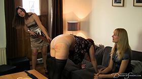 Join the site to view The Spanking Rep and all other spanking scenes