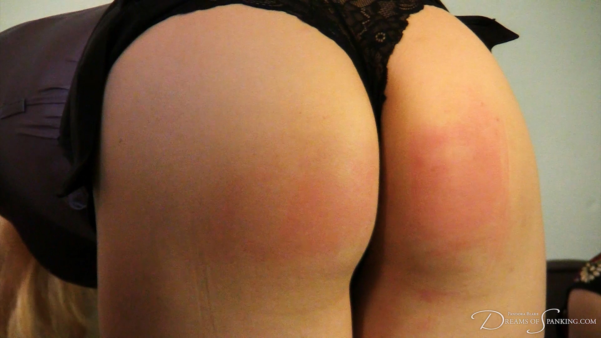 Girl/girl switch spanking with Amelia Jane Rutherford, Pandora Blake and Caroline Grey