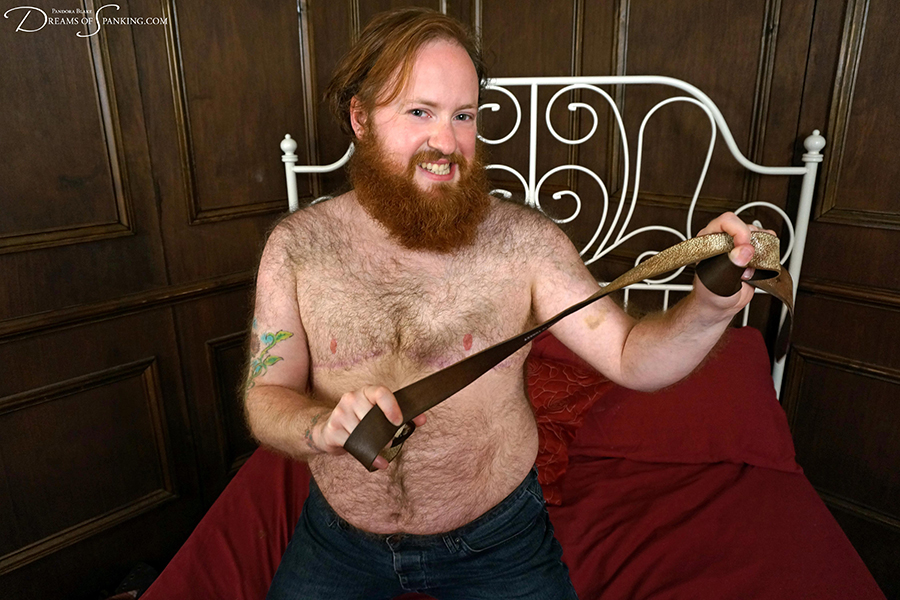 Furry creature Ron Beastly - new FTM porn performer at Dreams of Spanking