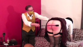 Join the site to view Saddle Sauce and all other spanking scenes