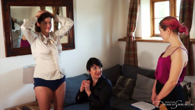 Join the site to view Hitting the Sales Targets and all other spanking scenes