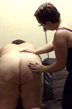 Sarah's Backlash Caning