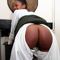 Behind the scenes photo 3 from The Scholarship Girl at Dreams of Spanking
