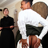 Behind the scenes photo 4 from The Scholarship Girl at Dreams of Spanking