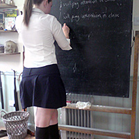 Preview thumbnail : Join the site to view School Days and all other spanking scenes
