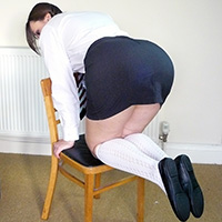 Preview thumbnail : Join the site to view School Skirt and all other spanking scenes