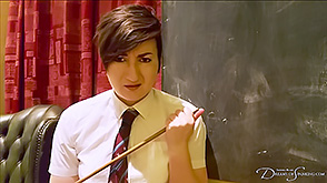 Click to view more previews of Schoolgirl Scared of the Cane