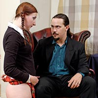 Preview thumbnail : Join the site to view Schoolgirl Spanked and all other spanking scenes