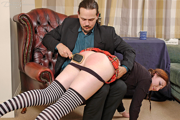 Click to view high-resolution preview image for Schoolgirl%20Spanked