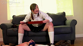 Join the site to view Schoolgirl Takedown and all other spanking scenes