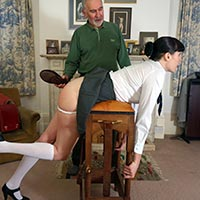 Join the site to view The Schoolgirl's Revenge and all other spanking scenes