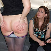 Join the site to view The Seating Plan and all other spanking scenes