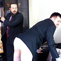 Join the site to view Compromised Security and all other spanking scenes