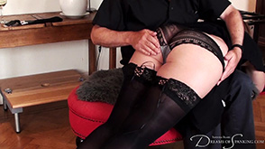 Click to view more previews of Sensual Hand Spanking