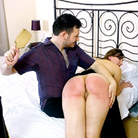 Join the site to view A Pleasure to Serve and all other spanking scenes