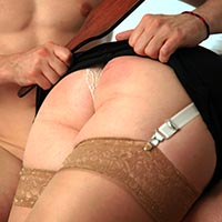 Preview thumbnail : Join the site to view Domestic Service and all other spanking scenes