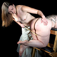 Preview thumbnail : Join the site to view Sing, Muse and all other spanking scenes