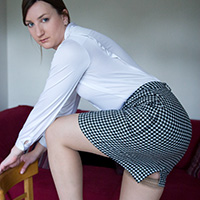 Preview thumbnail : Join the site to view Pencil Skirt and all other spanking scenes