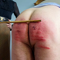 Join the site to view Slight Damage to the Rear End and all other spanking scenes