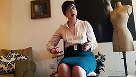 Join the site to view Spanked and Scolded by Auntie Margaret and all other spanking scenes