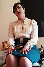 Spanked and Scolded by Auntie Margaret