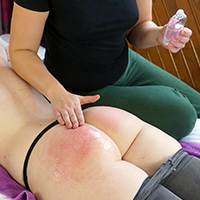 Join the site to view Spanking Massage Parlour - part 1 and all other spanking scenes