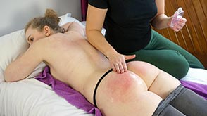 Click to view more previews of Spanking Massage Parlour - part 1