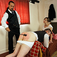 Join the site to view The Stableboy and all other spanking scenes