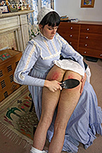 Spanked by Stepmother