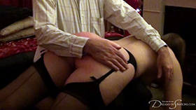 Join the site to view Stockings and Suspenders and all other spanking scenes